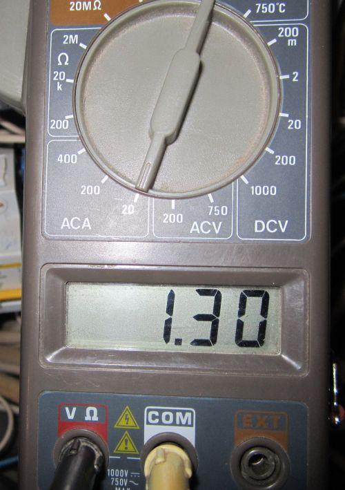 Измеряем ток для расчётов