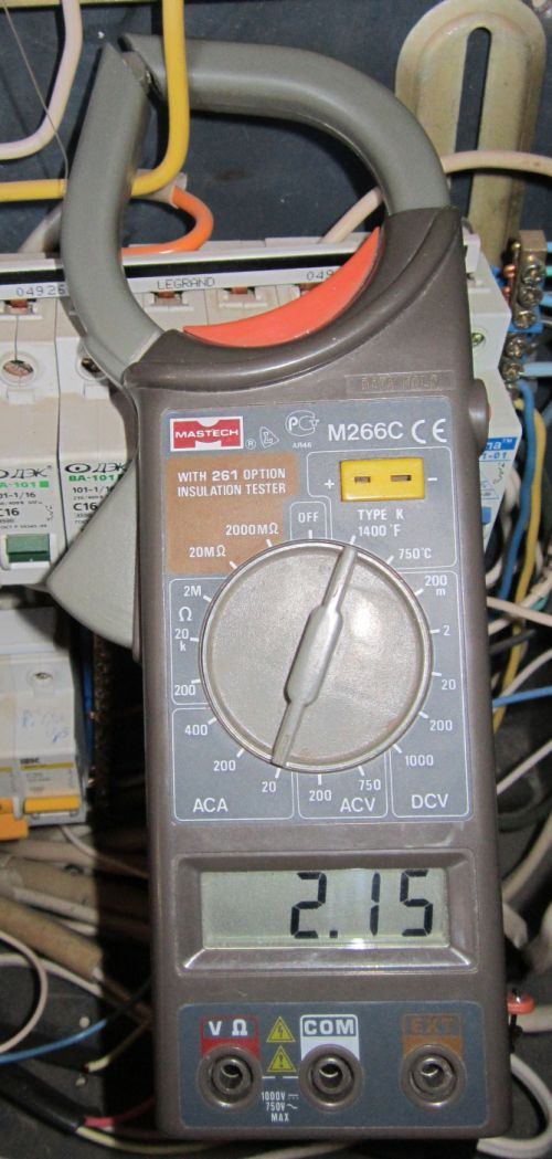 Измеряем ток